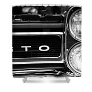 Black And White Gto Shower Curtain
