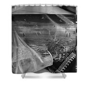 Black And White Moments Shower Curtain