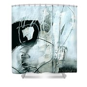 Black And White #2 Shower Curtain
