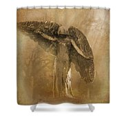 Black Angel The Forgotten Series 13 Shower Curtain