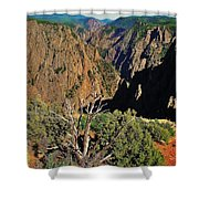 Black Canyon Shower Curtain