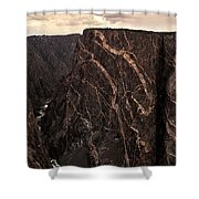 Black Canyon National Park In Colorado Shower Curtain