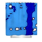 Black Canyon Of The Gunnison Shower Curtain