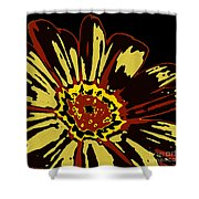 Black Eye Susanna Shower Curtain