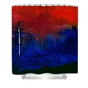 Black Forest #2 Shower Curtain