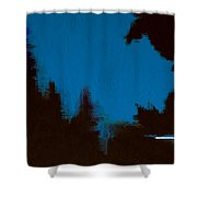 Black Forest #3 Shower Curtain
