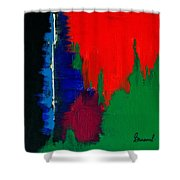 Black Forest #4 Shower Curtain