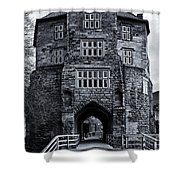 Black Gate Shower Curtain