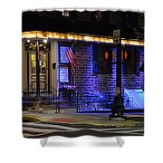Black Horse Tavern  Shower Curtain