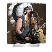 Black Label Society - Zak Wylde Shower Curtain