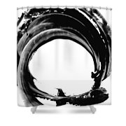 Black Magic 304 By Sharon Cummings Shower Curtain