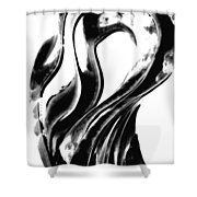 Black Magic 306 By Sharon Cummings Shower Curtain