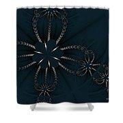 Black Pearl Shower Curtain