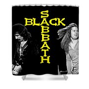Black Sabbath 1978 Shower Curtain