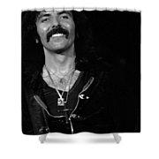 Black Sabbath #46 Enhanced Bw Shower Curtain