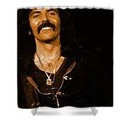 Black Sabbath #46 Enhanced In Amber Shower Curtain