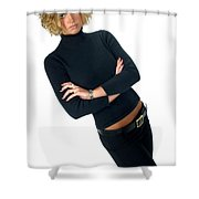 Black17 Shower Curtain