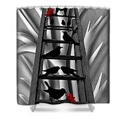 Blackbird Ladder Shower Curtain
