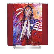 Blackfeet Shower Curtain