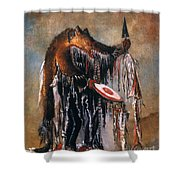 Blackfoot Medicine Man Shower Curtain