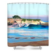 Blacks Beach - Santa Cruz Shower Curtain