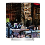 Blacksmith - All The Tools Shower Curtain