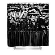 Blacksmith's Tools Shower Curtain