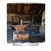 Blacksmiths Tools Shower Curtain