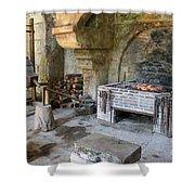 Blacksmiths Workshop Shower Curtain