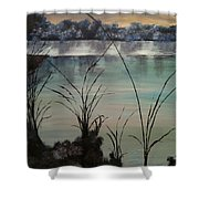Herrick Lake Shower Curtain