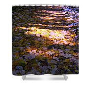 Bladertapijt Shower Curtain