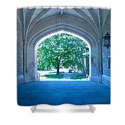 Blair Hall Arch Shower Curtain