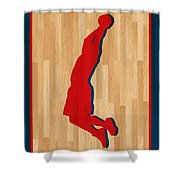 Blake Griffin Los Angeles Clippers Shower Curtain