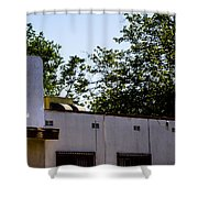 Blank Sign Shower Curtain