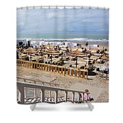 Blankenberge Beach Belgium Shower Curtain