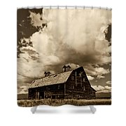 Blasdel Barn Shower Curtain