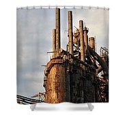Blast Furnaces - Bethlehem Pa Shower Curtain