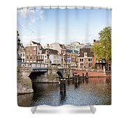 Blauwbrug In Amsterdam Shower Curtain