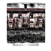 Bleeding House Shower Curtain
