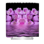 Bleeding Violet 2 Shower Curtain