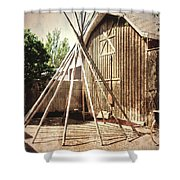 Blend Of Cultures Shower Curtain