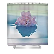 Blend Of Pastels Shower Curtain by Kaye Menner
