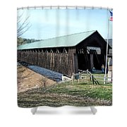 Blenheim Bridge Shower Curtain