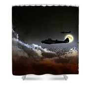 Blenheim Nightfighters Shower Curtain