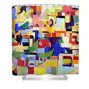 Blessed Is He Who Redeems And Rescues 2 Shower Curtain