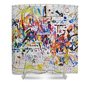 Blessed Is Our G-d Who Created Us For His Glory Shower Curtain