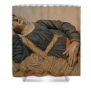 Blessed Virgin Mary Shower Curtain
