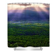 Blessings From Above Shower Curtain