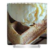 Blissful Breakfast Shower Curtain