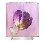 Blissfully Purple Shower Curtain